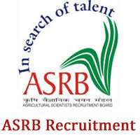 ASRB Recruitment 2021: Notification for Agricultural Research Service and Senior Technical Officer Examination; Check the details
